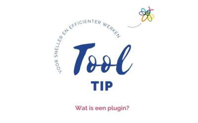 Tool tip: Wat is een plugin?