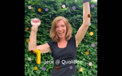 QualiBee viert 1-jarig bestaan!