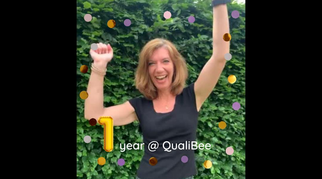 QualiBee viert 1-jarig bestaan